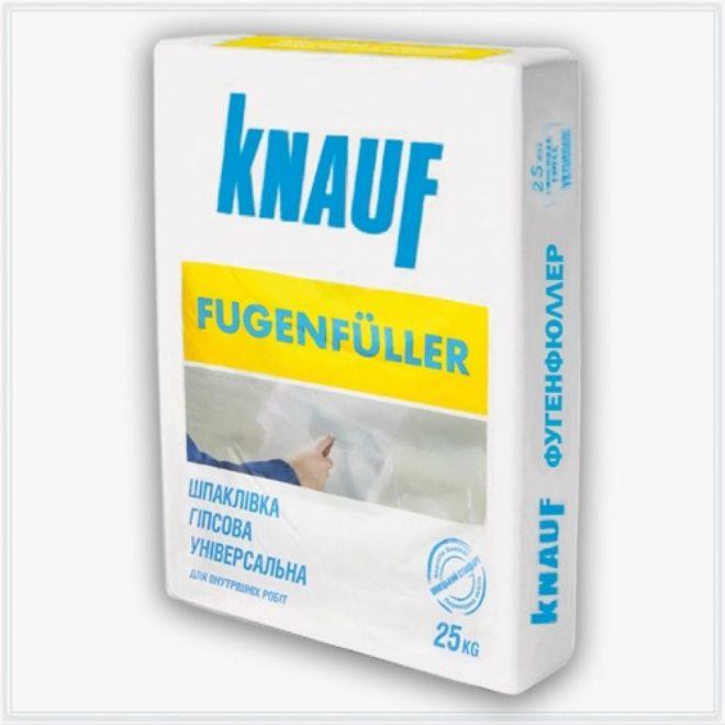 Шпаклевка гипсовая Кнауф-Фугенфюллер 25кг