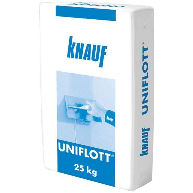 Шпаклевка гипсовая универсальная Унифлот Кнауф 25кг