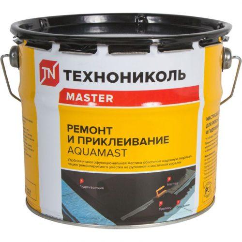 Мастика битумная для ремонта Aquamast 3кг