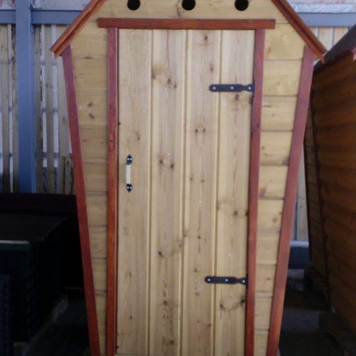 Туалет с Имитацией бруса