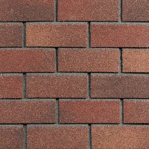 HAUBERK фасадная плитка, Терракотовый кирпич (упаковка 2м2)