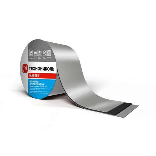 NICOBAND СГЛ серебристая 0,15 х 3м