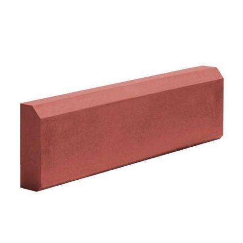 Бордюр большой 65х210х500 красный