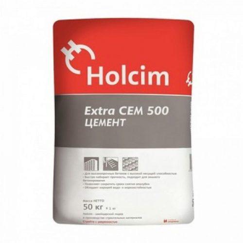 Цемент Евро Holcim М500  ЦЕМII/A-К(III-И)42,5Н 50кг