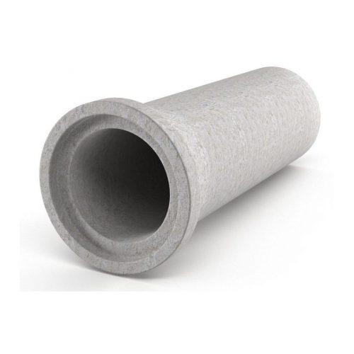 Труба железо-бетонная ᴓ400 дл 5.10м
