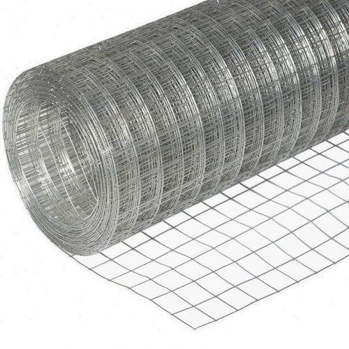 Сетка сварная оцинк (1.8мх30м) (т 1.8) яч. 50