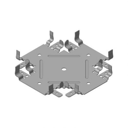Профильный соединитель 1-уровневый КРАБ 60х27мм (толщ.0.9мм)
