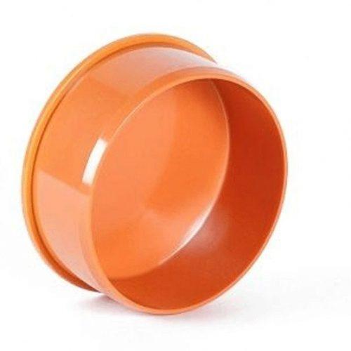Заглушка 110 оранжевая