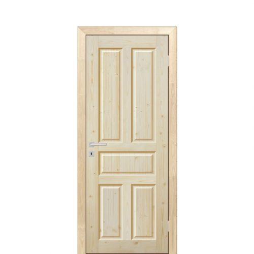 Дверь филен. с коробкой под стекло 2.1х0.6