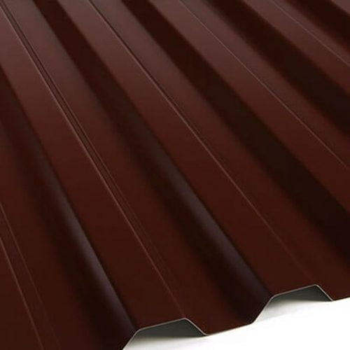 С-21 коричневый 1000х3000 (т 0.45)