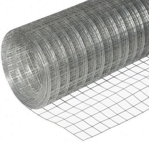Сетка сварная оцинк (1.5мх25м) (т 1.6) яч. 50х100х50