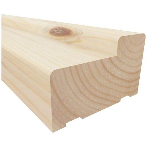 Коробка дверная 70 высота 2.1м сорт А/В
