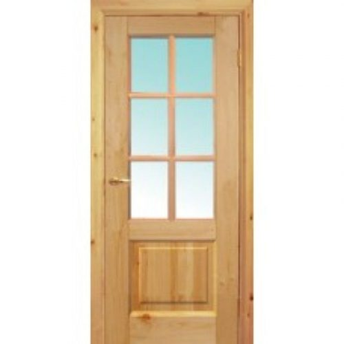 Двери б/сучковые со стеклом 2х0.7