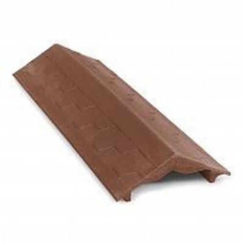Парапет полимерно-песчаный 25х125х500 коричневый