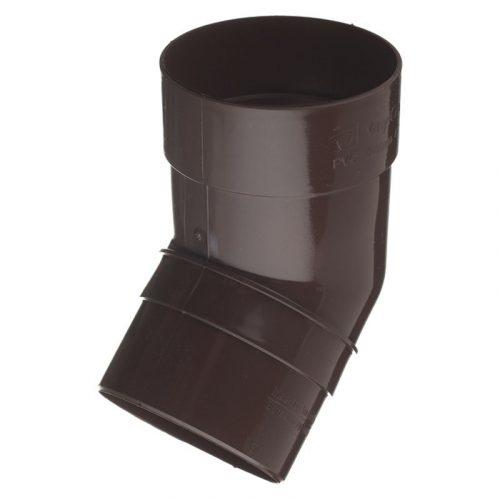 VERAT колено трубы 135* коричневое (7)