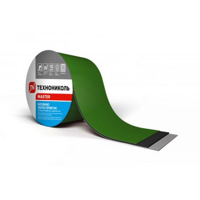 NICOBAND СГЛ зеленая 0,10 х 10м