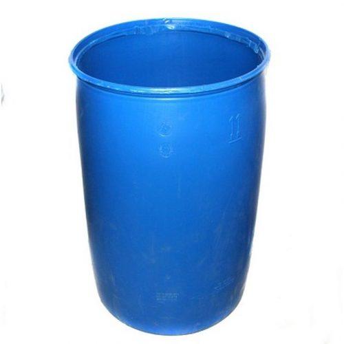 Бочка пластмассовая синяя без крышки 220л