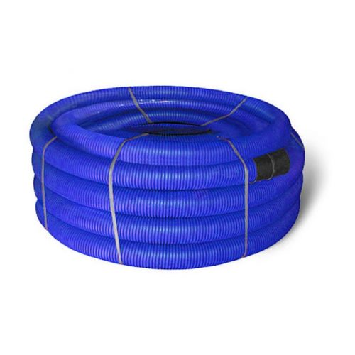 Труба защитная двустенная синяя 110 (п.м.)