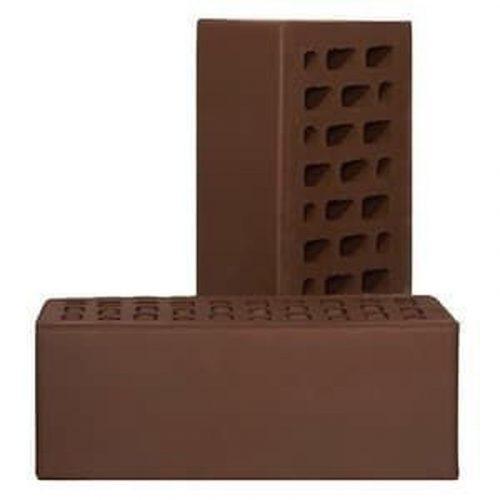 Кирпич облиц щелев одинарный  Шоколад (поддон - 480шт)