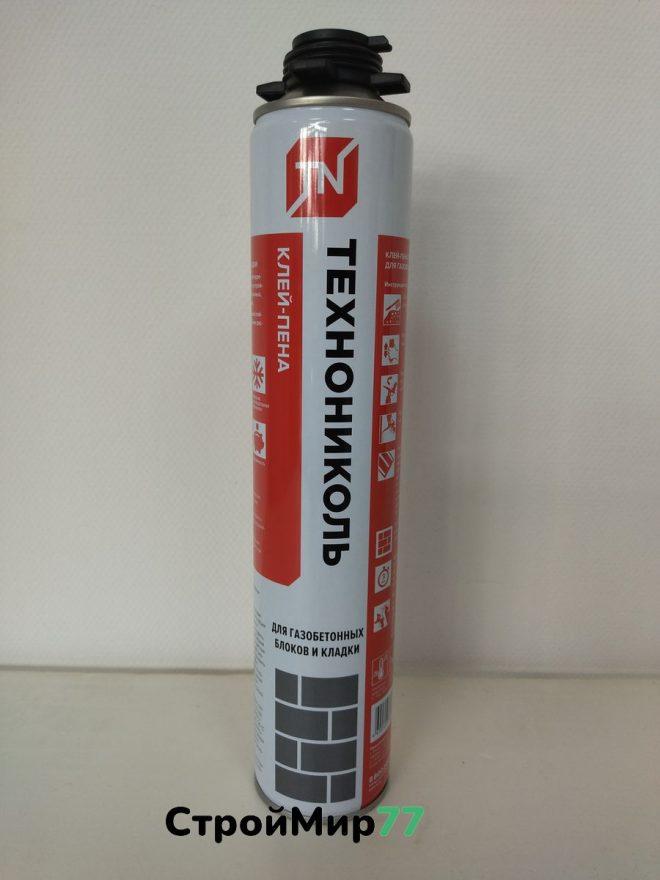 Клей-пена Технониколь для газобетона и кладки