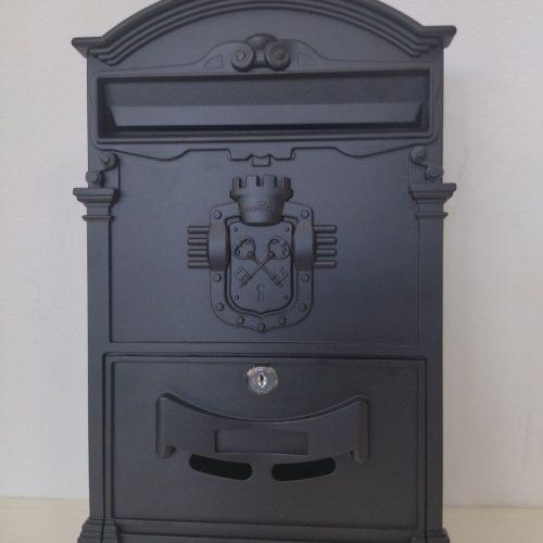 Ящик почтовый К-31091Ф, черный